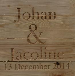 Johan and Jacoline